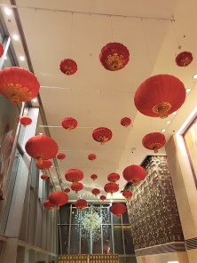 China hotel red lanterns